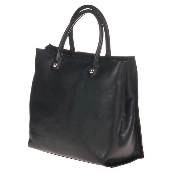 33x30x9cm Bolso tote - negro/plata